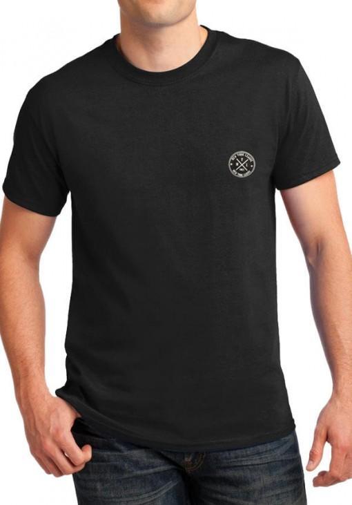 Ανδρικό Κοντομάνικο T-Shirt - NYL - B&C - Μαύρο - 4410