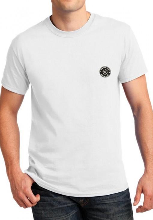 Ανδρικό Κοντομάνικο T-Shirt - NYL - B&C - Λευκό - 4415