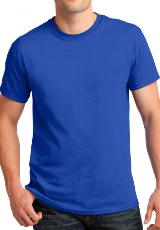 Ανδρικό Κοντομάνικο T-Shirt - B&C - Μπλε Ρουά - E2020